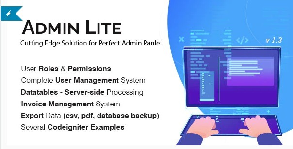 Admin-Lite-PHP-Admin-Panel-CRUD-Nulled-Download