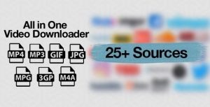 All in-One-Video-Downloader-Script-Nulled-Download