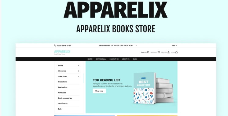 Apparelix-Books-Online-Store-Nulled-Download