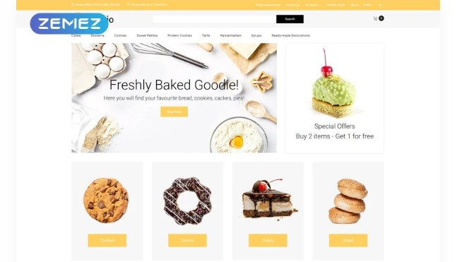 Bakeio-Bakery-eCommerce-Creative-Nulled-Download