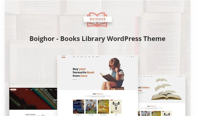Boighor-Books-Library-WooCommerce-Theme-Nulled-Download