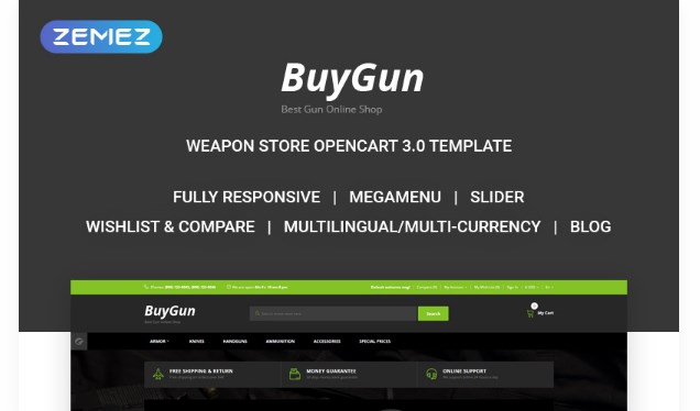 BuyGun-Weapons-Store-Nulled-Download