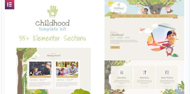 Childhood-Kids-Child-Care-Center-Nulled-Download