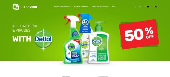 CleanJinn-Cleaning-Supplies-Nulled-Download