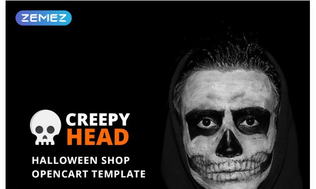 Creepy-Head -Halloween-Shop-Nulled-Download