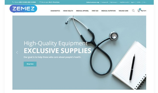 Exciolen-Medical-Equipment-Store-Nulled-Download