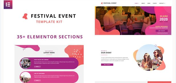 Festival-Events-Nulled-Download