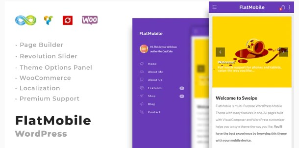 FlatMobile-Responsive-WordPress-Mobile-Theme-Nulled-Download