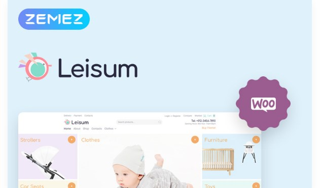 Leisum-Kids-Store-Nulled-Download
