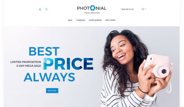 Photonial-Photo-&-Video-Store-Nulled-Download