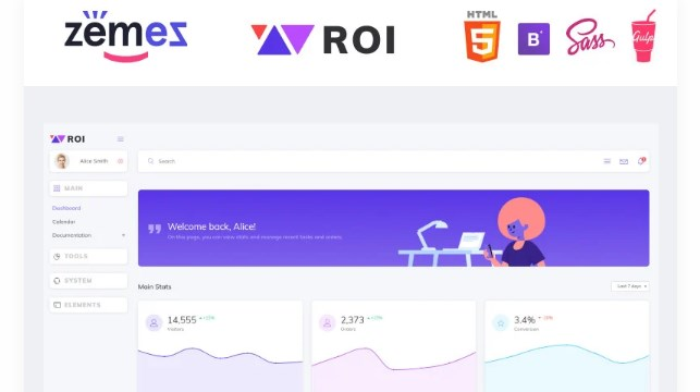 ROI-Multipurpose-Creative-Dashboard-Admin-Template-Nulled-Download