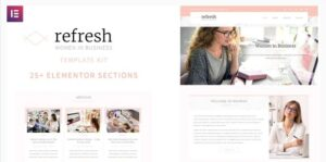Refresh-Women-in-Business-Elementor-Template-Kit-Nulled-Download