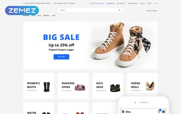 Sho.-Shoe-Store-E-Commerce-Nulled-Download