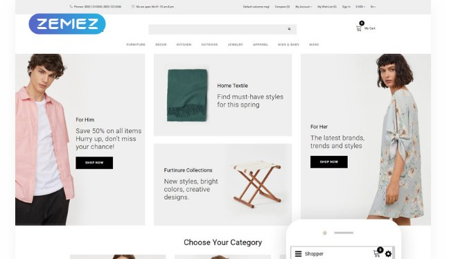 Shopper-Wholesale-eCommerce-Clean-Nulled-Download