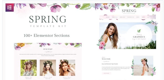 Spring-Watercolor-Nulled-Download