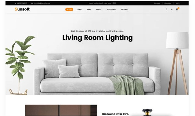 Sunsoft-Lighting-Store-Nulled-Download