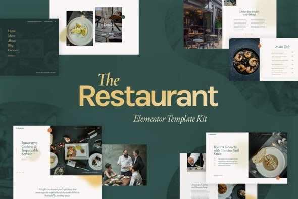 The-Restaurant-Elementor-Template-Kit-Nulled-Download