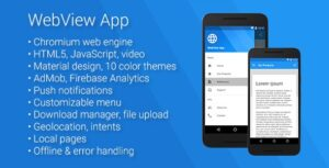 Universal-Android-WebView-App-nulled-download