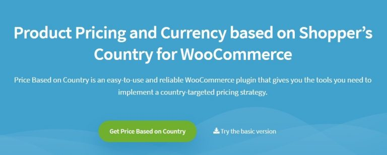 WooCommerce Price Based on Country Pro Add-on Nulled