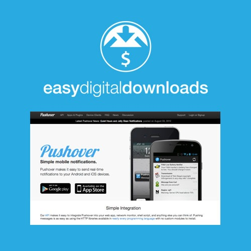 Easy-Digital-Downloads-Pushover-Notifications-Nulled-Download