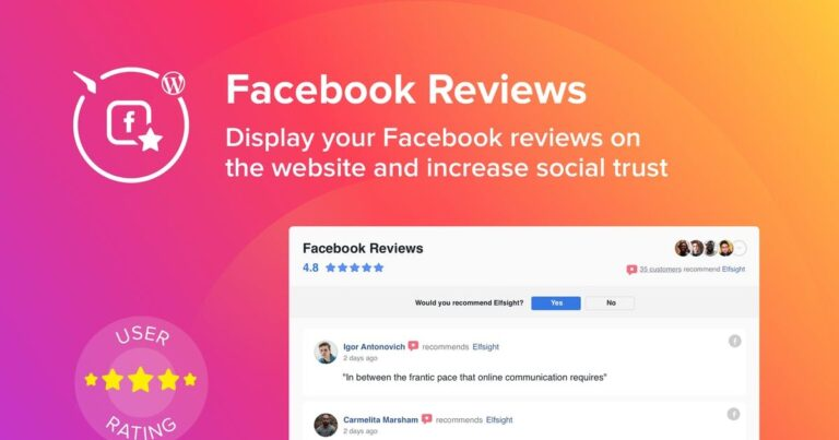 Elfsight-Facebook-Reviews-Nulled-Download