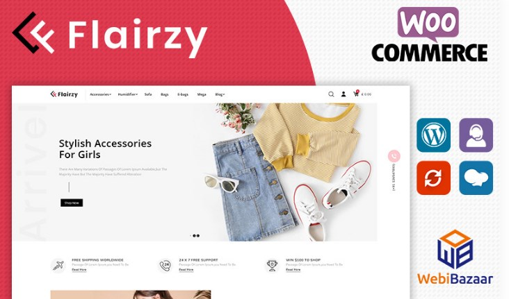 Flairzy-WooCommerce-Theme-Nulled-Download