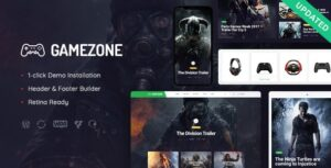 Gamezone-Gaming-Blog-Store-Nulled-Download