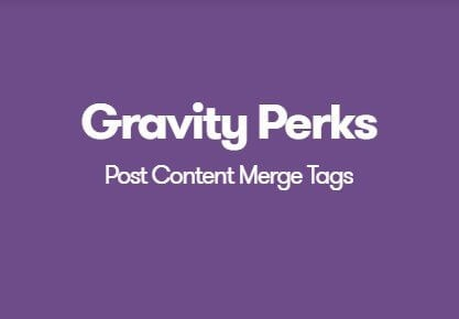 Gravity-Perks-Post-Content-Merge-Tags-Nulled-Download