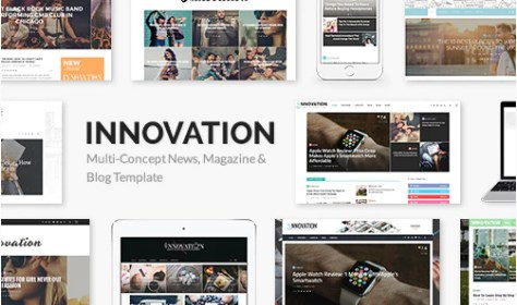 INNOVATION-Multi-Concept-News-Magazine-Blog-Theme-Nulled-Download