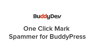 One-Click-Mark-Spammer-for-BuddyPress-Nulled-Download