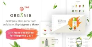Organie-An-Organic-Store-Farm-Cake-and-Flower-Shop-Magento-2-and-1-Theme-Nulled-Download