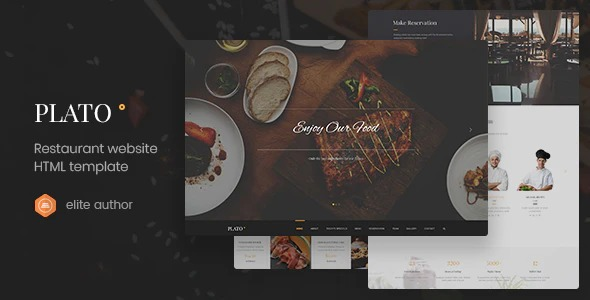 Plato-Restaurant-Food-One-Page-HTML5-Template-nulled-Download