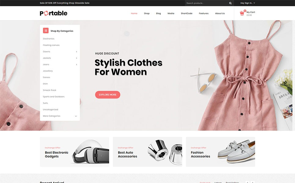 Portable-MegaStore-Responsive-WooCommerce-Theme-Nulled-Download