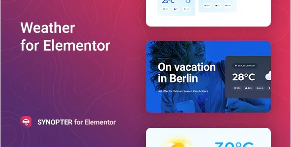 Synopter-Weather-Elementor-Nulled-Download