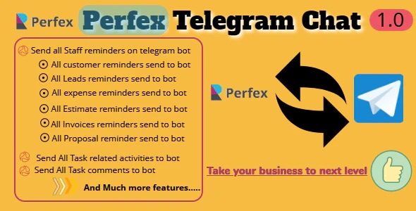 TelegramBot-Chat-Module-Perfex-CRM-Nulled-Download
