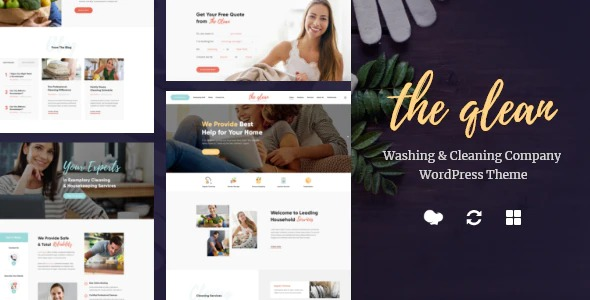 The-Qlean-Housekeeping-Washing-Cleaning-Company-Nulled-Download