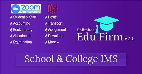 Unlimited-Edu-Firm-School-nulled-download