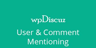 WpDiscuz-User-Comment-Mentioning-Nulled-Download
