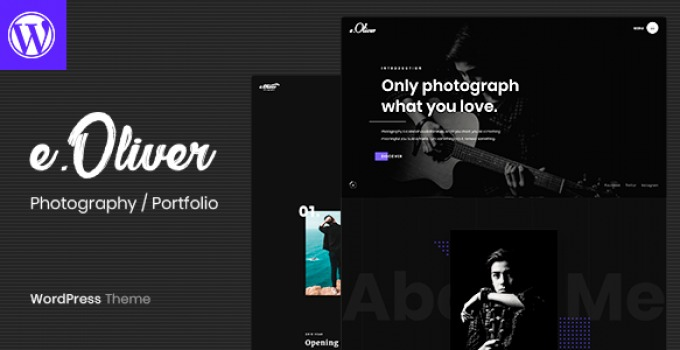 oliver-photography-portfolio-theme-Nulled-Download
