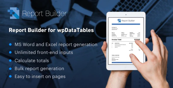 report-builder-wpdata-tables-Nulled-Download