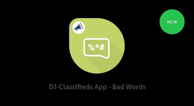 Bad Words App v.1.0 for DJ-Classifieds Free Download