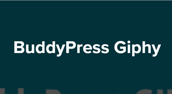 BuddyPress-Giphy-Nulled-Download