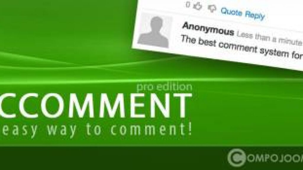 Ccomment-Pro-Joomla-comments-Nulled-download