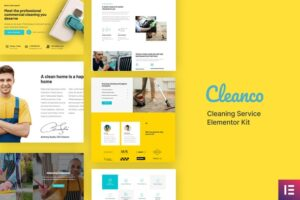 Cleanco-Cleaning-Service-Company-Template-Kit-Nulled-Download