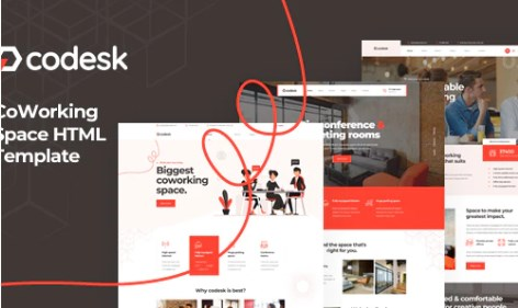 Codesk-Coworking-Space-HTML-Template-Nulled-Download
