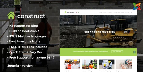 건축-건축 -Joomla-Template-Nulled-Download