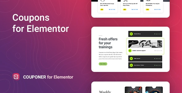 Couponer-Discount-Coupons-for-Elementor-Nulled-download