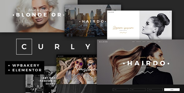 Curly-A-Stylish-Theme-for-Hairdressers-and-Hair-Salons-Nulled-Downlpoad