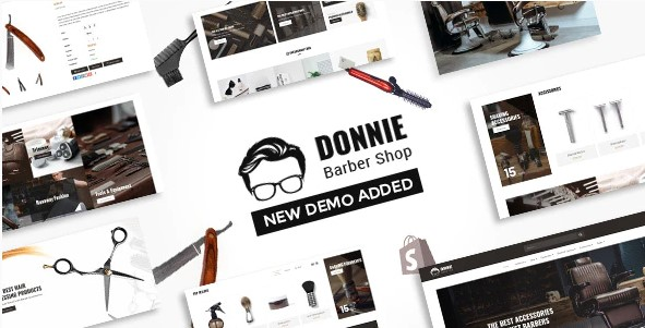 Donnie Barber Shop Shopify Theme