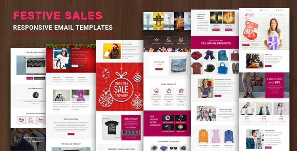 Festive-Sales-Responsive-Email-Template-with-Online-StampReady-Mailchimp-Editors-Nulled-Download